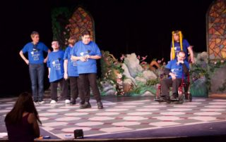 Stage scene from Flourish in the Footlights at Metropolis School of the Performing Arts